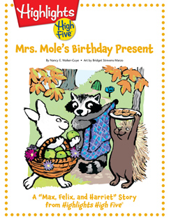 Cover for Mrs. Mole's Birthday Present