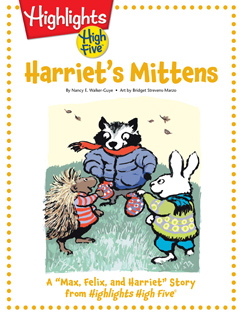 Cover for Harriet's Mittens