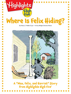 Cover for Where is Felix Hiding?