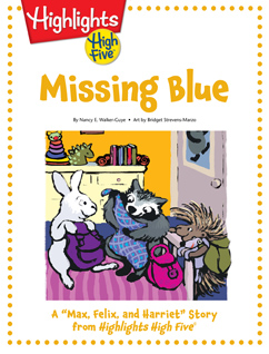 Cover for Missing Blue
