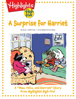 Cover for A Surprise for Harriet