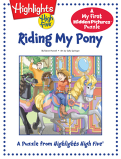 Cover for Riding My Pony