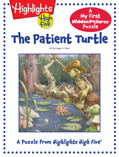Cover for The Patient Turtle