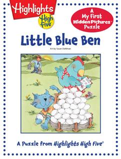 Cover for Little Blue Ben
