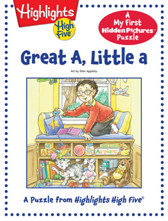 Cover for Great A, Little a