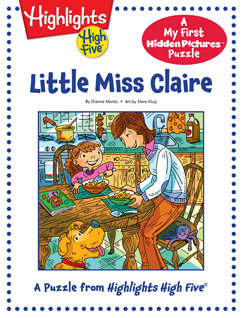 Cover for Little Miss Claire