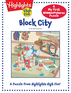 Cover for Block City