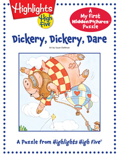 Cover for Dickery, Dickery, Dare