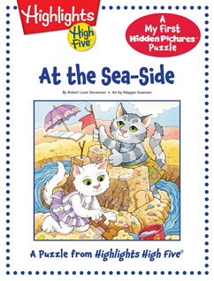 Cover for At the Sea-Side