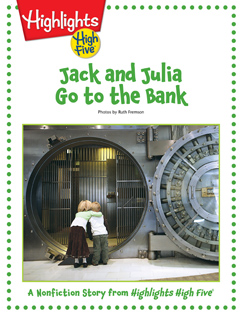 Cover for Jack and Julia Go to the Bank
