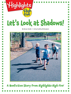 Cover for Let's Look at Shadows!