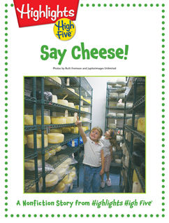 Cover for Say Cheese!