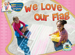 Cover for We Love Our Flag