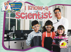 Cover for I Know a Scientist