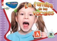 Cover for La familia de las vocales