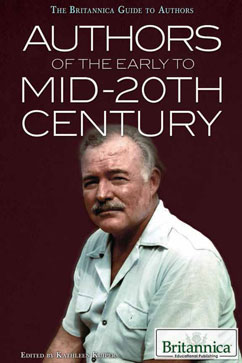 Cover for Authors of the Early to mid-20th Century