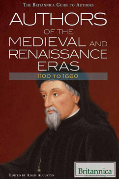 Cover for Authors of the Medieval and Renaissance Eras