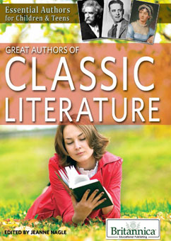 Cover for Great Authors of Classic Literature