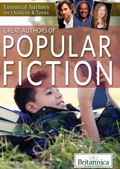 Cover for Great Authors of Popular Fiction