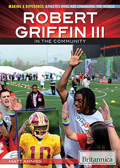Cover for Robert Griffin III in the Community