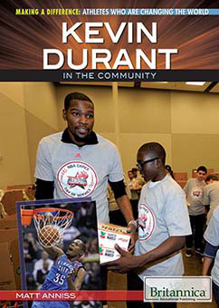 Cover for Kevin Durant in the Community