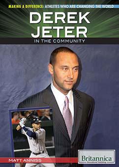 Cover for Derek Jeter in the Community