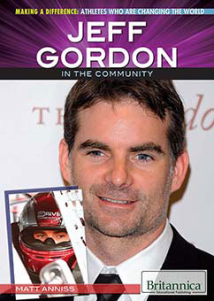 Cover for Jeff Gordon in the Community