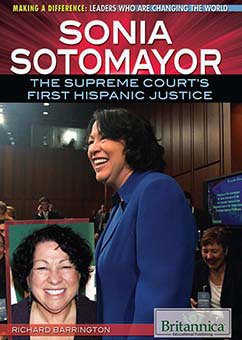 Cover for Sonia Sotomayor