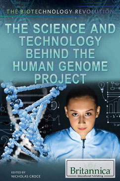Cover for The Science and Technology Behind the Human Genome Project