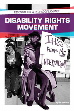 Cover for Disability Rights Movement
