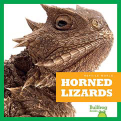 Cover for Horned Lizards