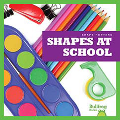 Cover for Shapes at School