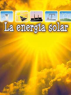Cover for La energía solar