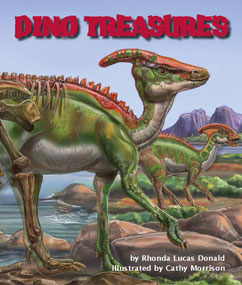 Cover for Dino Treasures