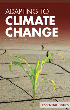 Cover for Adapting to Climate Change