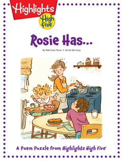 Cover for Rosie Has...