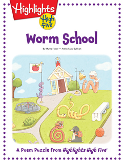 Cover for Worm School