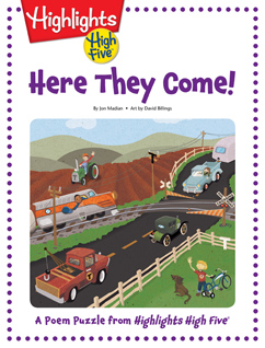 Cover for Here They Come!