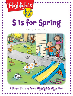 Cover for S Is for Spring
