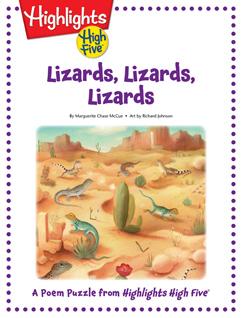 Cover for Lizards, Lizards, Lizards