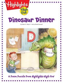 Cover for Dinosaur Dinner