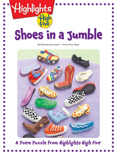 Cover for Shoes in a Jumble