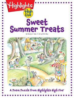 Cover for Sweet Summer Treats