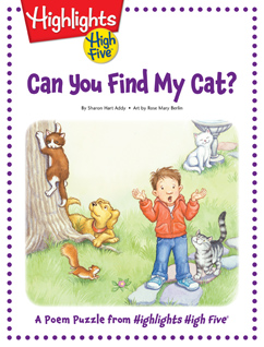 Cover for Can You Find My Cat?