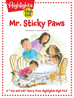 Cover for Mr. Sticky Paws