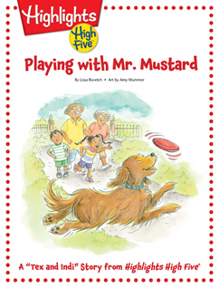 Cover for Playing with Mr. Mustard