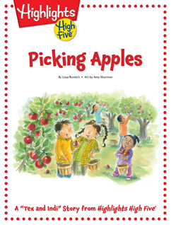 Cover for Picking Apples