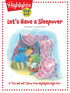 Cover for Let's Have a Sleepover
