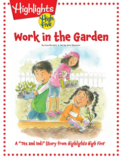 Cover for Work in the Garden