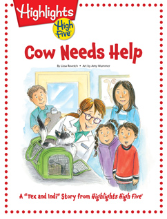 Cover for Cow Needs Help